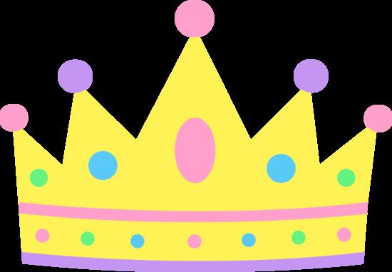 Crown clip art girly. Cute cartoon princess design