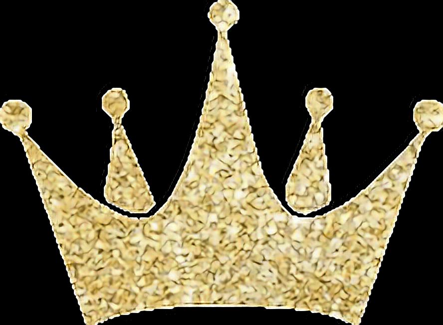 Crown glittery