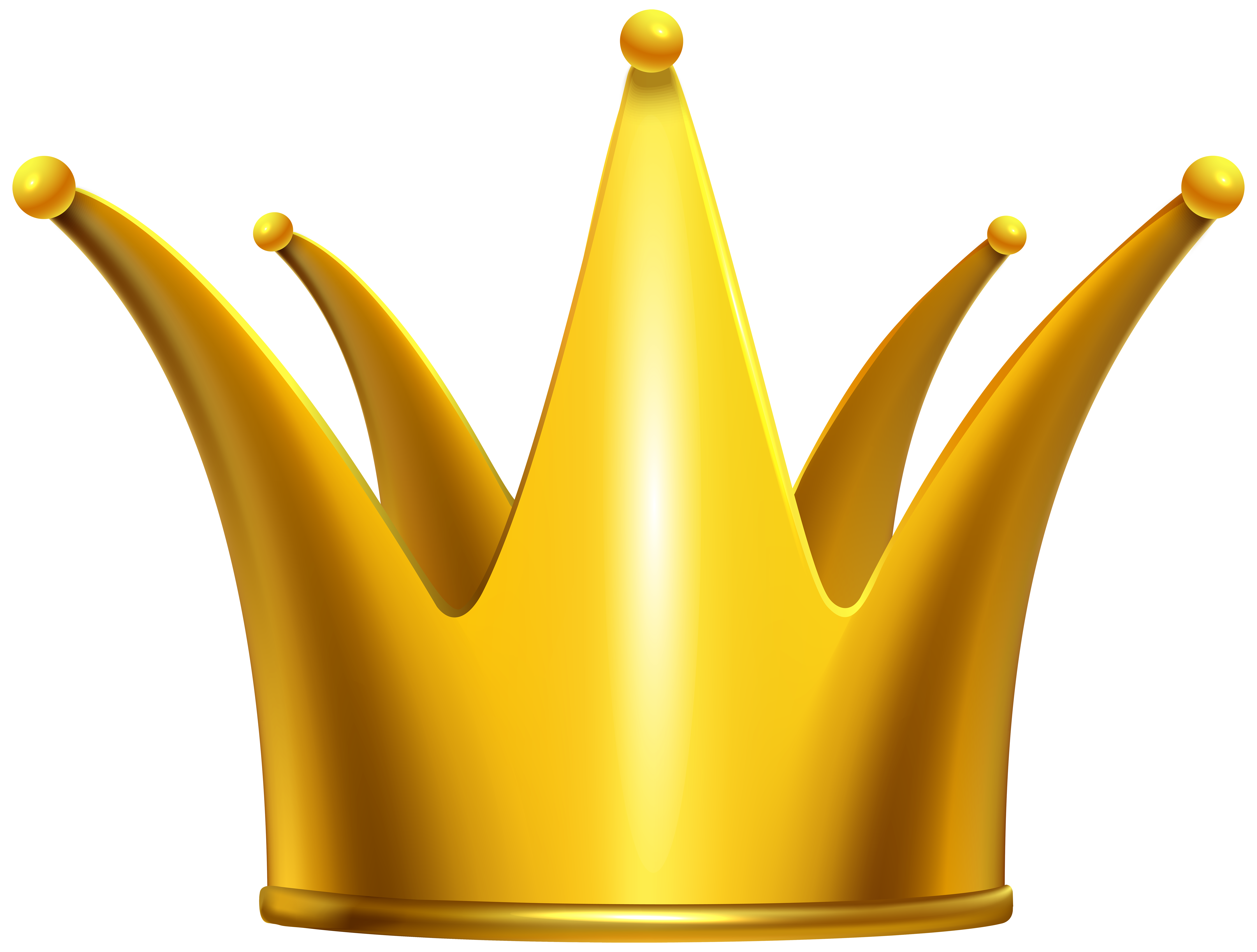 Number 1 clipart crown. Golden clip art png