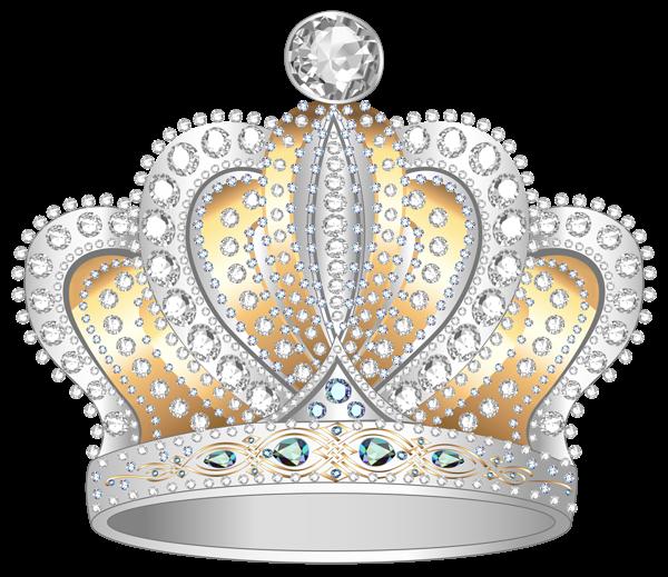 Silver diamond png clipart. Crown clip art gold glitter
