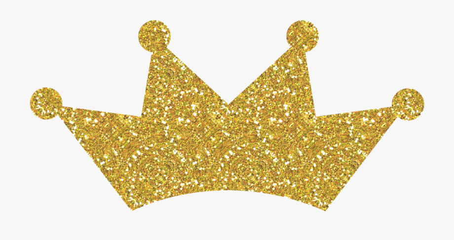 Gold crown png free. Crowns clipart glitter
