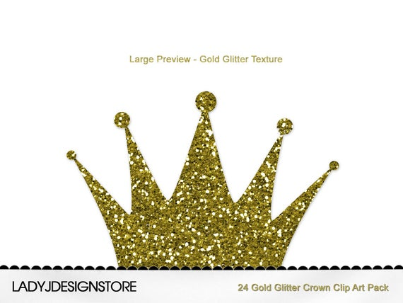 Gold crown clip art. Crowns clipart glitter