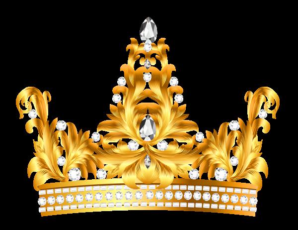 Crown clip art gold glitter.  corona princess prince