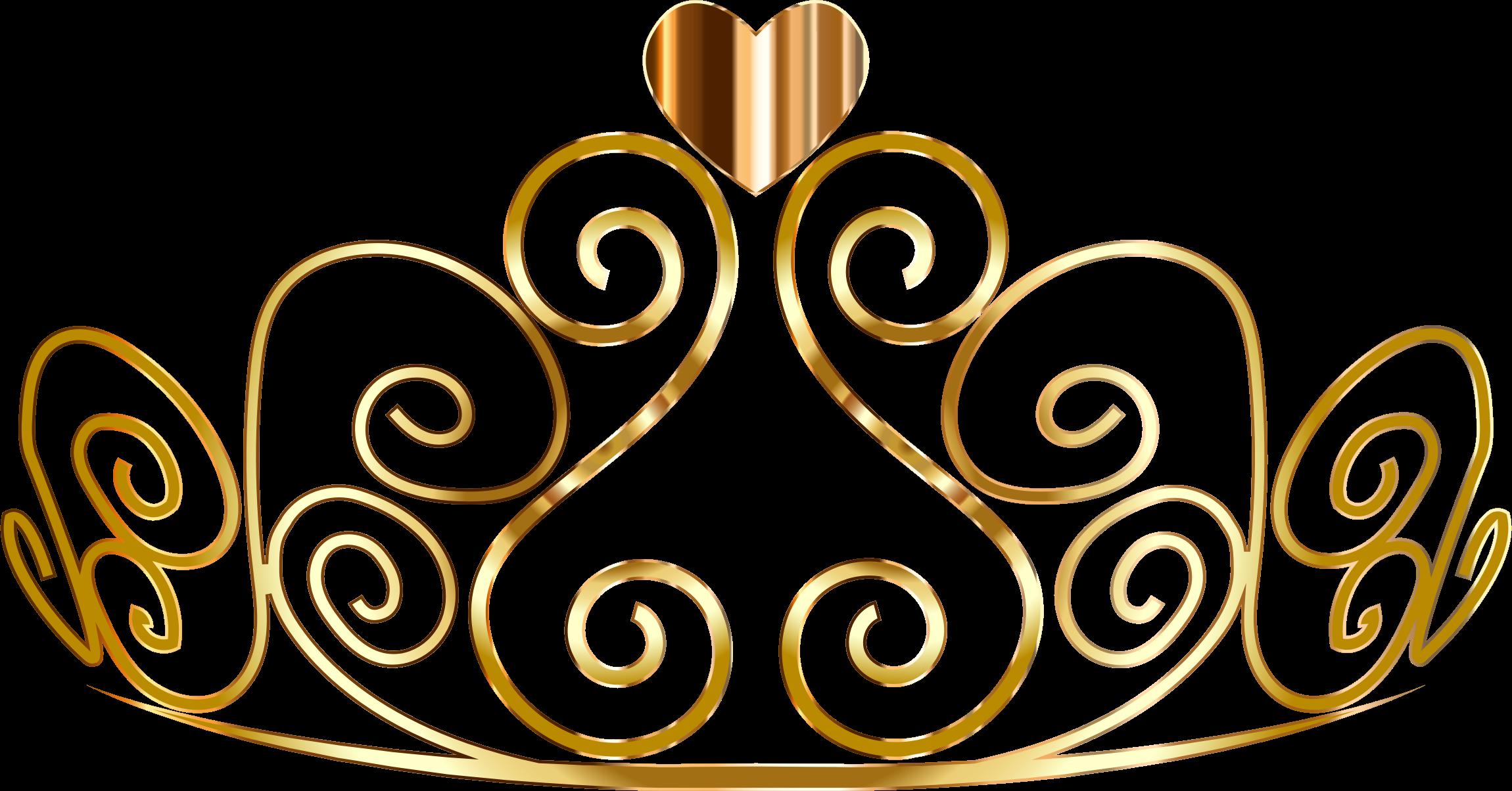 Crown clip art gold glitter. Princess clipart clipartxtras golden