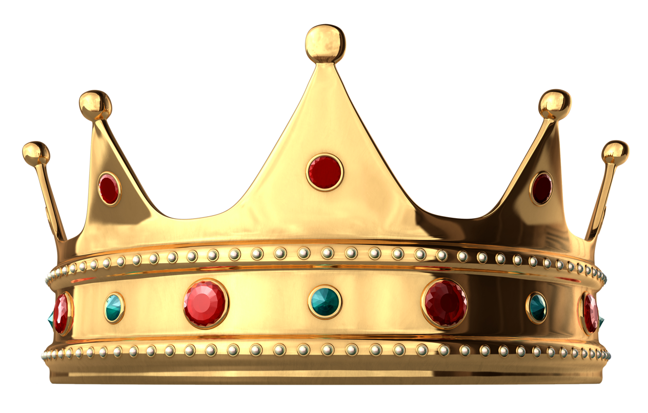 Crown clip art high resolution. Gold with diamonds png
