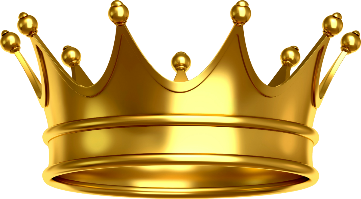 Crown gold hd . Clipart png