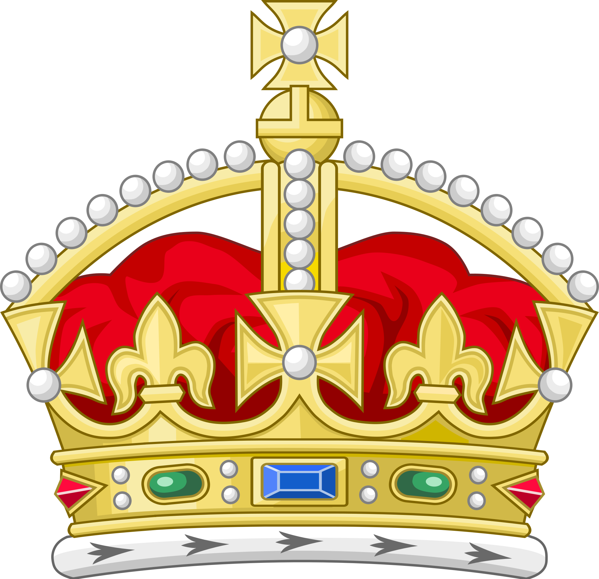 History clipart tudor. Crown heraldry wikipedia