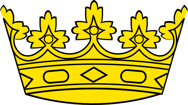 And queen crowns clipart. Crown clip art king