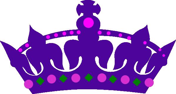 Purple queens at clker. Crown clip art queen's