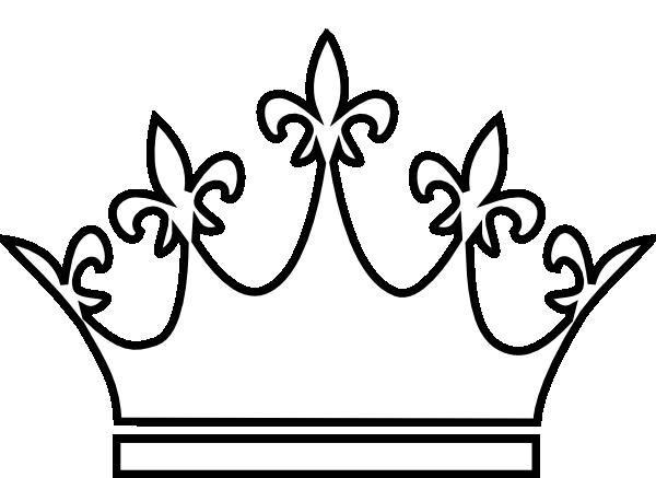 Crown clip art queen's. King and queen crowns