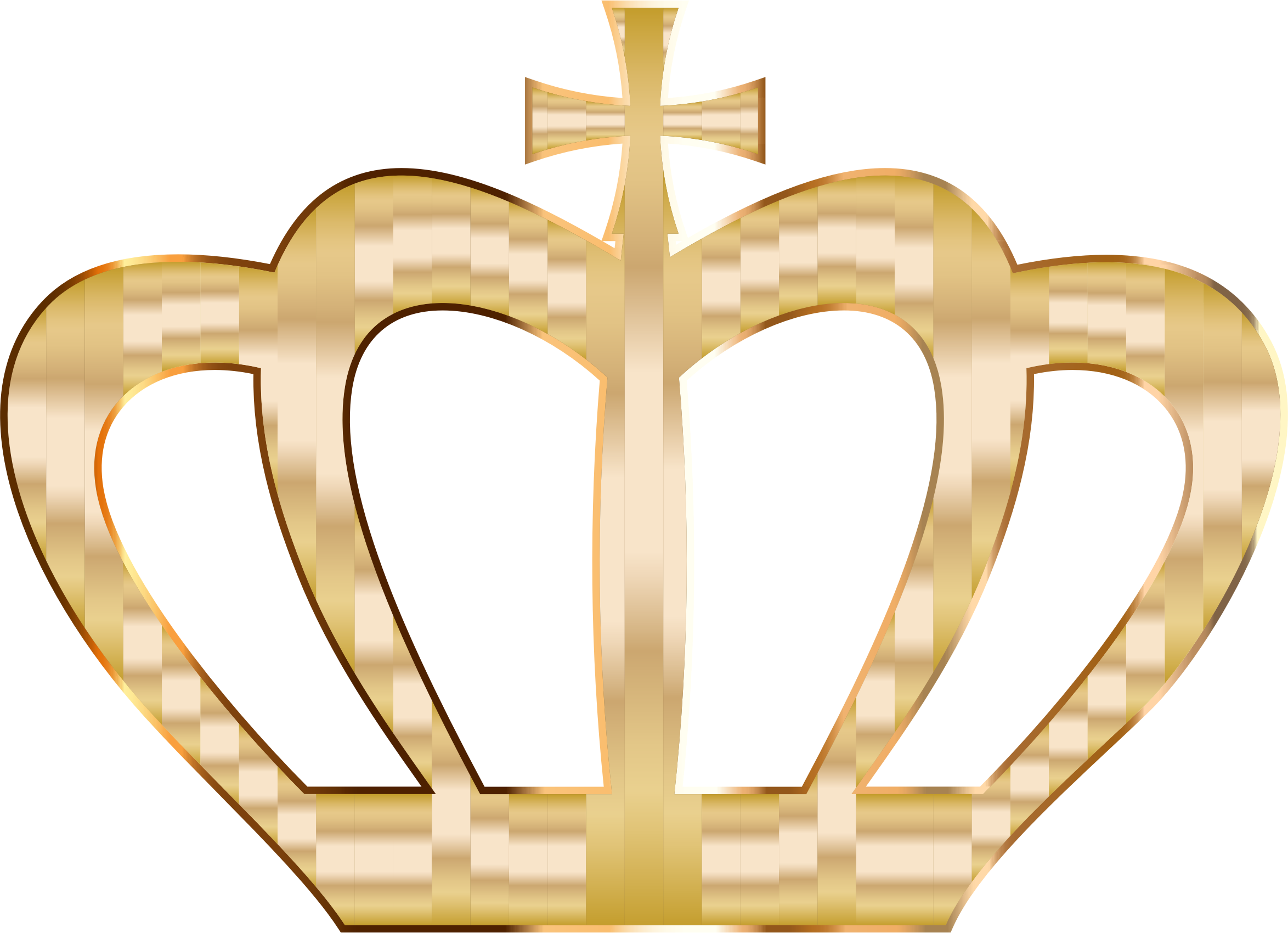 Gold no background icons. Crown clip art silhouette