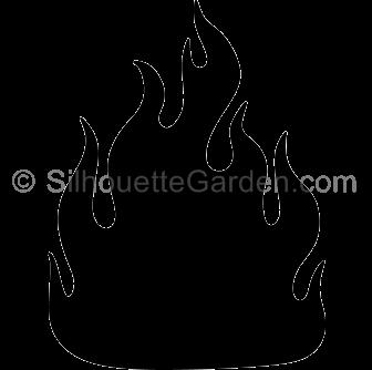 Crown clip art silhouette. Fire