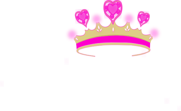 Princess at clker com. Crown clip art simple