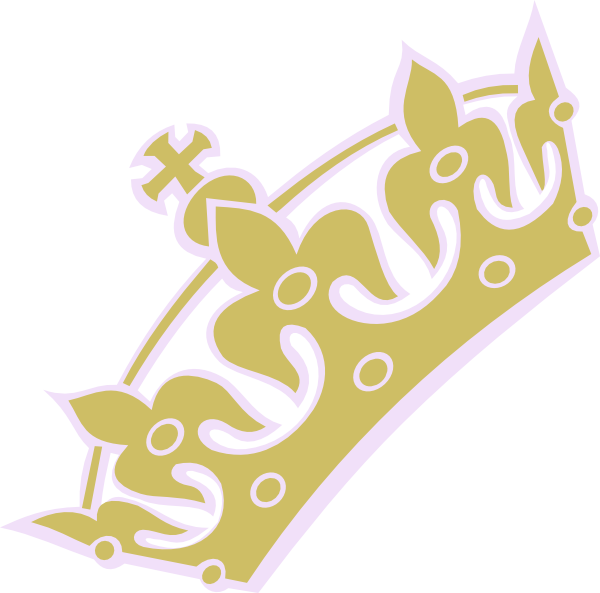 Gold lav princess at. Crown clip art tiara