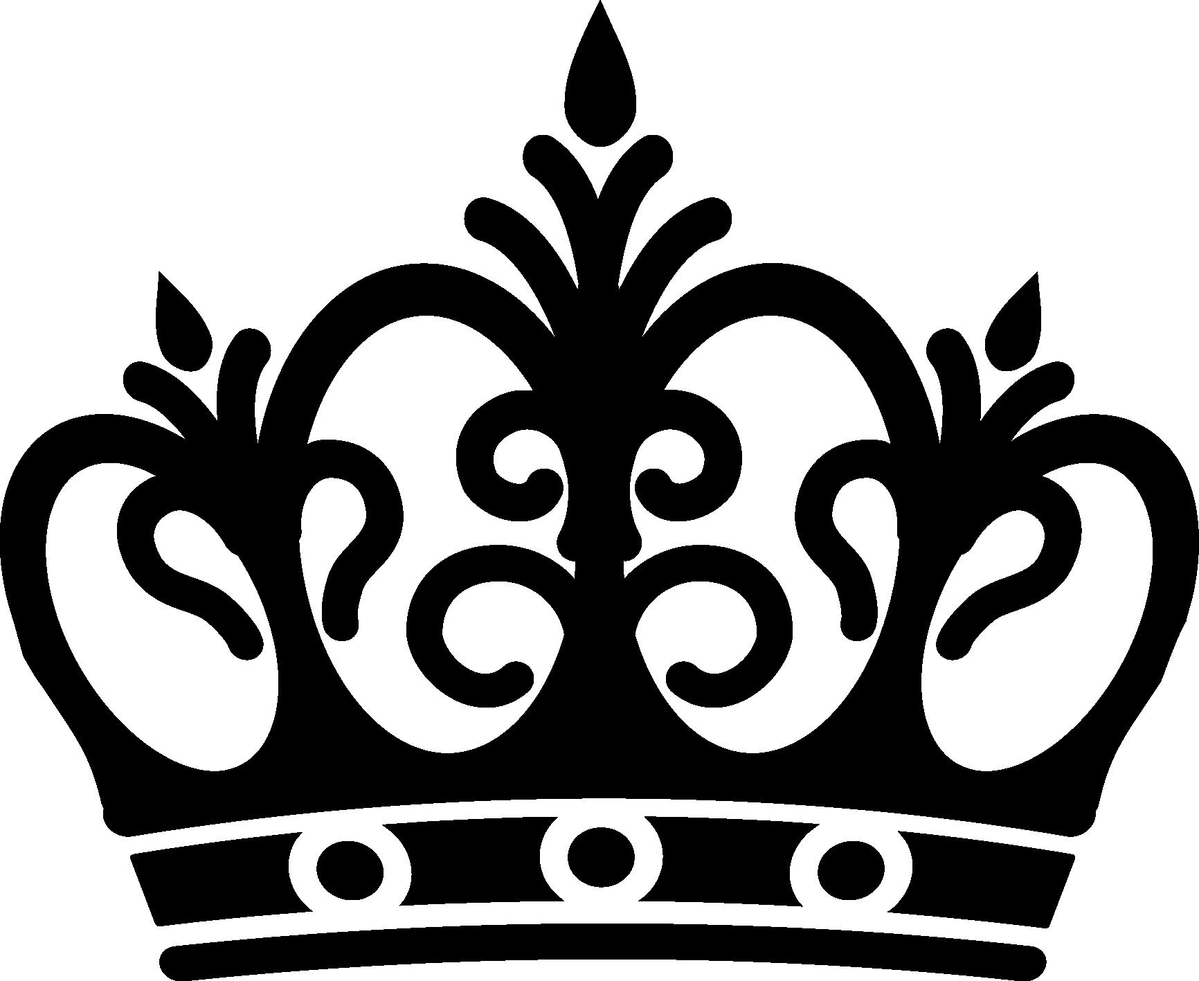 New black gallery digital. Crown clipart