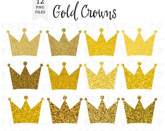 Crown clipart. Etsy off sale clip
