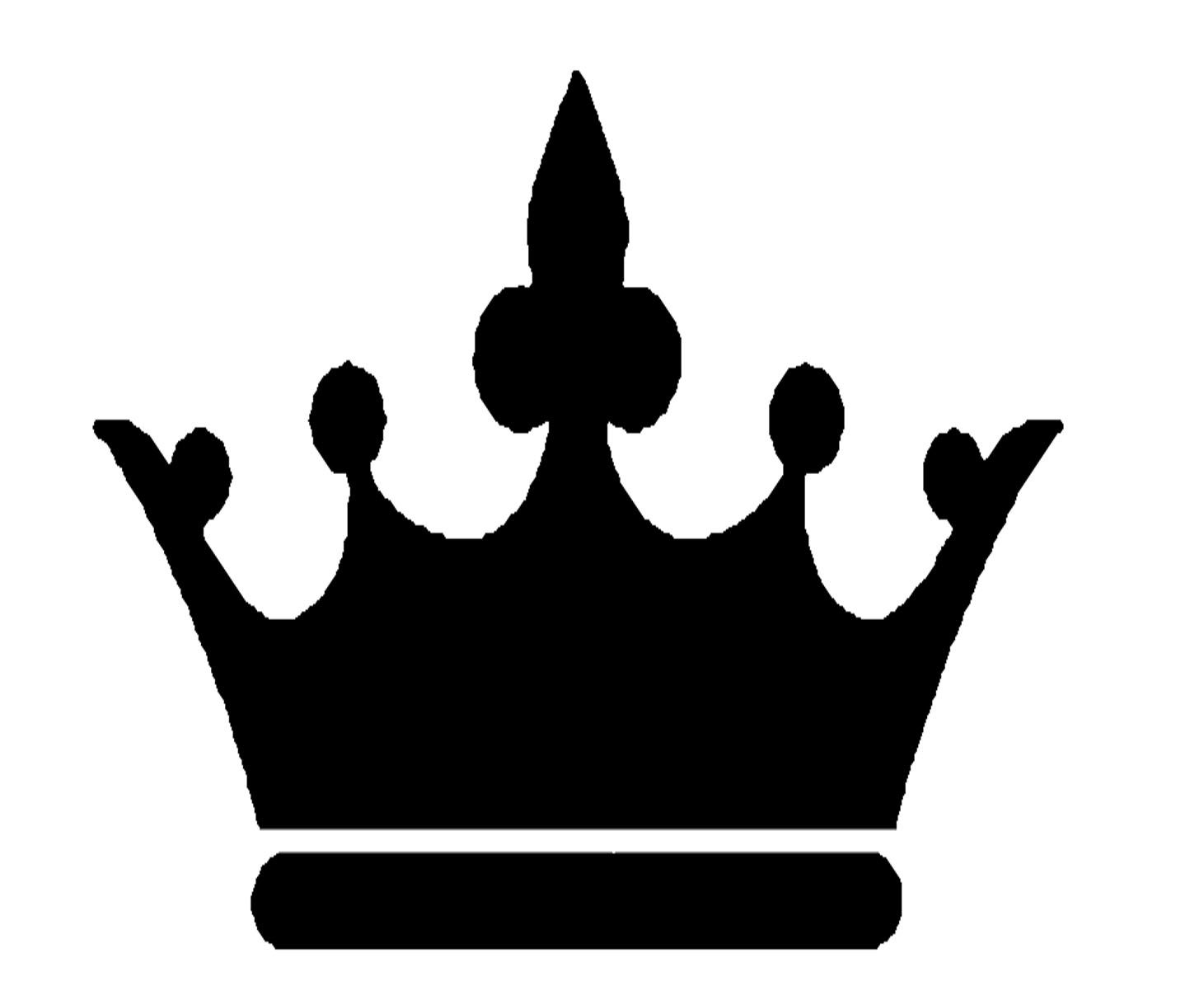 King crown silhouette at. Queen clipart taj