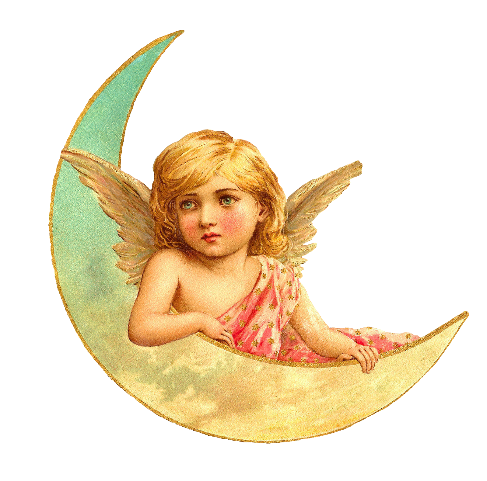 Png beautiful victorian angels. Crown clipart angel