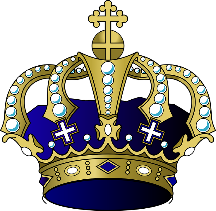 Prince shop of library. Crown clipart cap