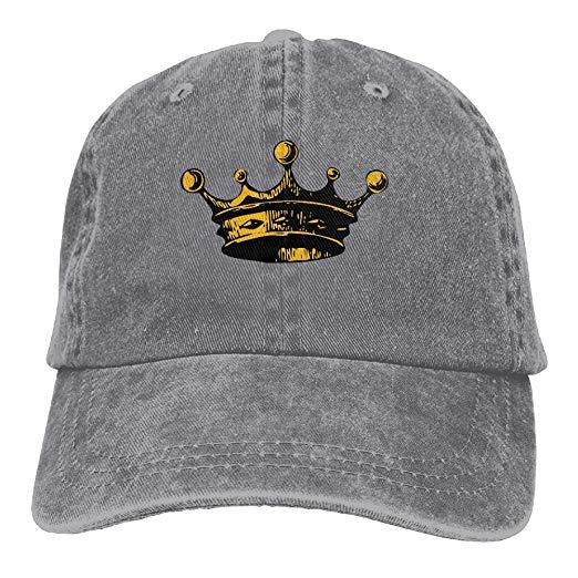 Crown clipart cap. Amazon com cotton denim