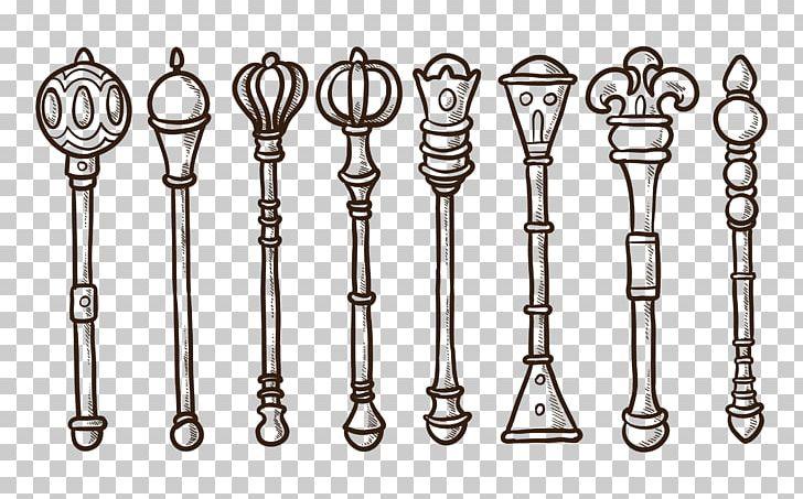 King png auto part. Crown clipart sceptre