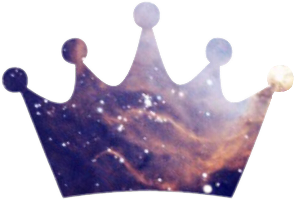 Galaxy clipart flower crown. Space stars popular report
