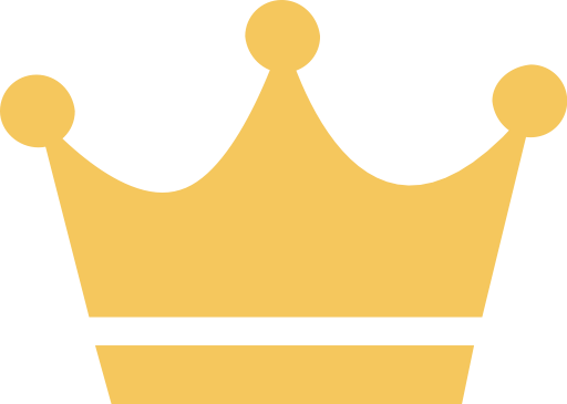 An king and vector. Crown icon png