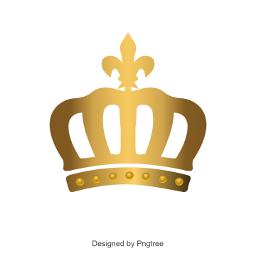 Monarch vectors psd and. Crown png vector