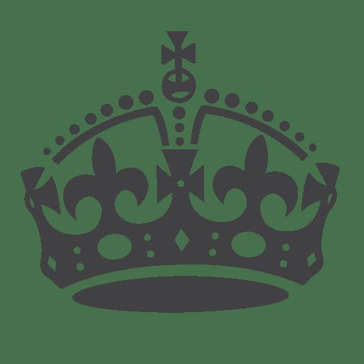 Britain silhouette transparent svg. Crown png vector
