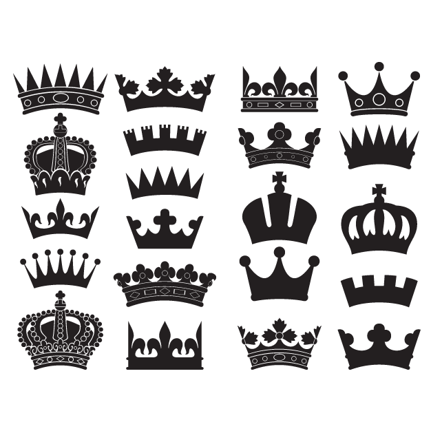 Crown vector png. Transprent free download pattern
