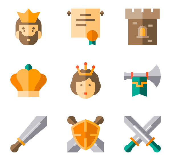 Icons free royalty. Crown vector png
