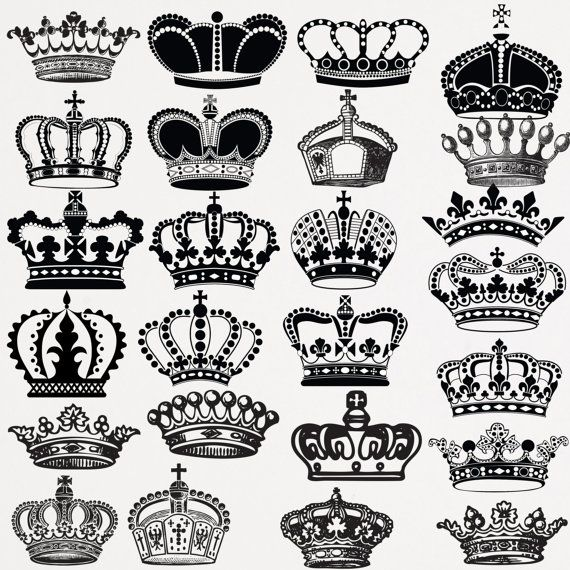 Crowns clipart.  for free download