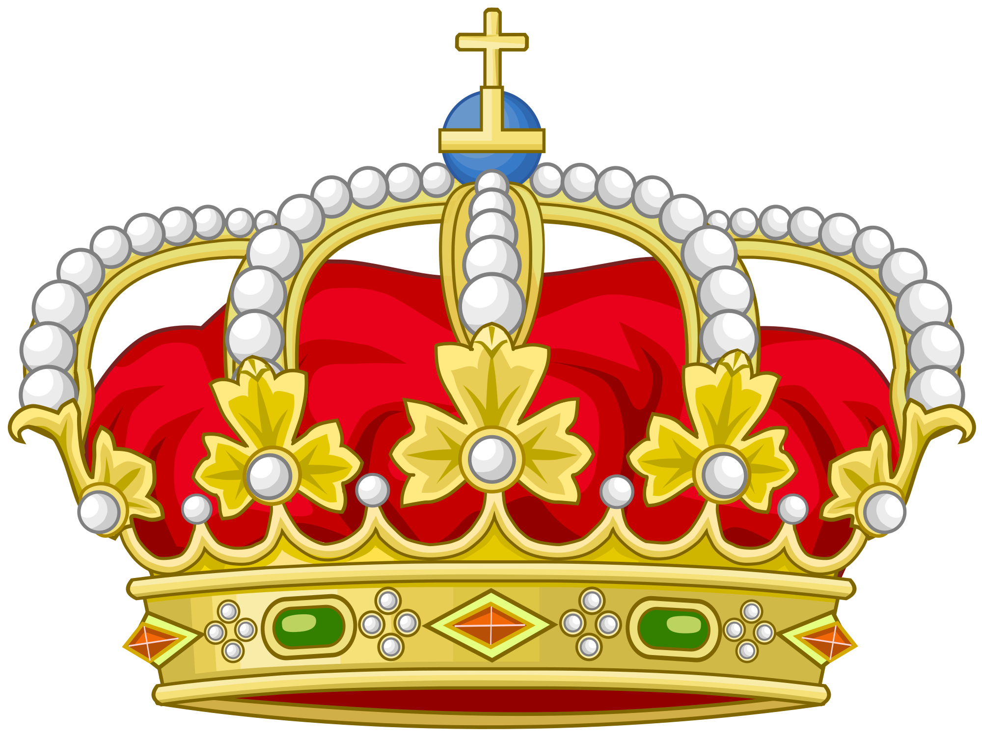 File heraldic royal crown. Land clipart agrarian