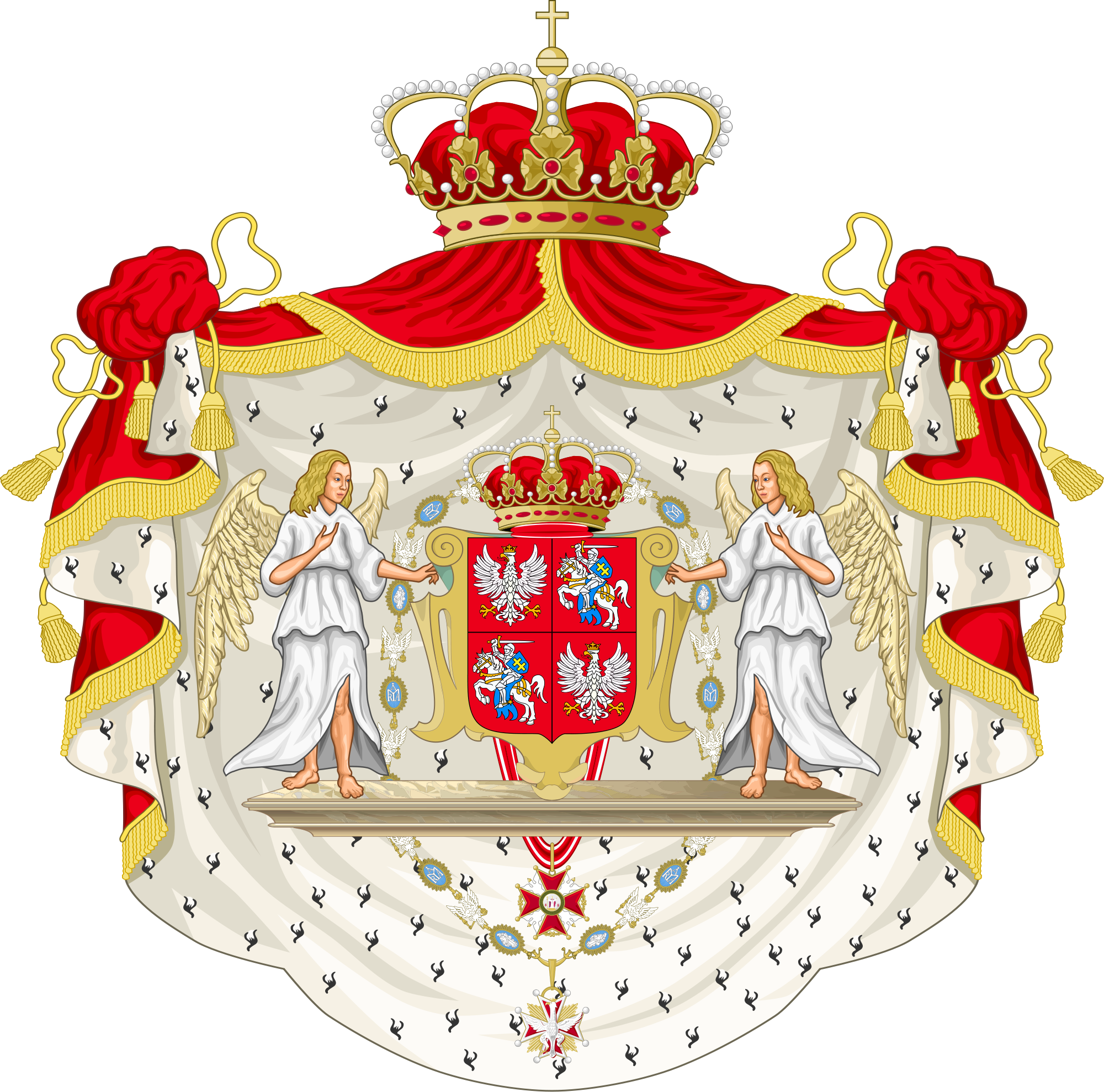 List of polish consorts. Crowns clipart female royal