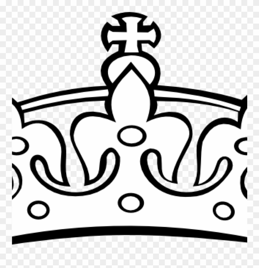 Crown princess black and. Crowns clipart king