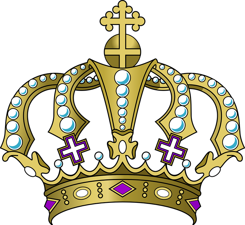 Crown logo graphics illustrations. Crowns clipart pastel