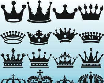 Gold crowns clip art. Queen clipart printable