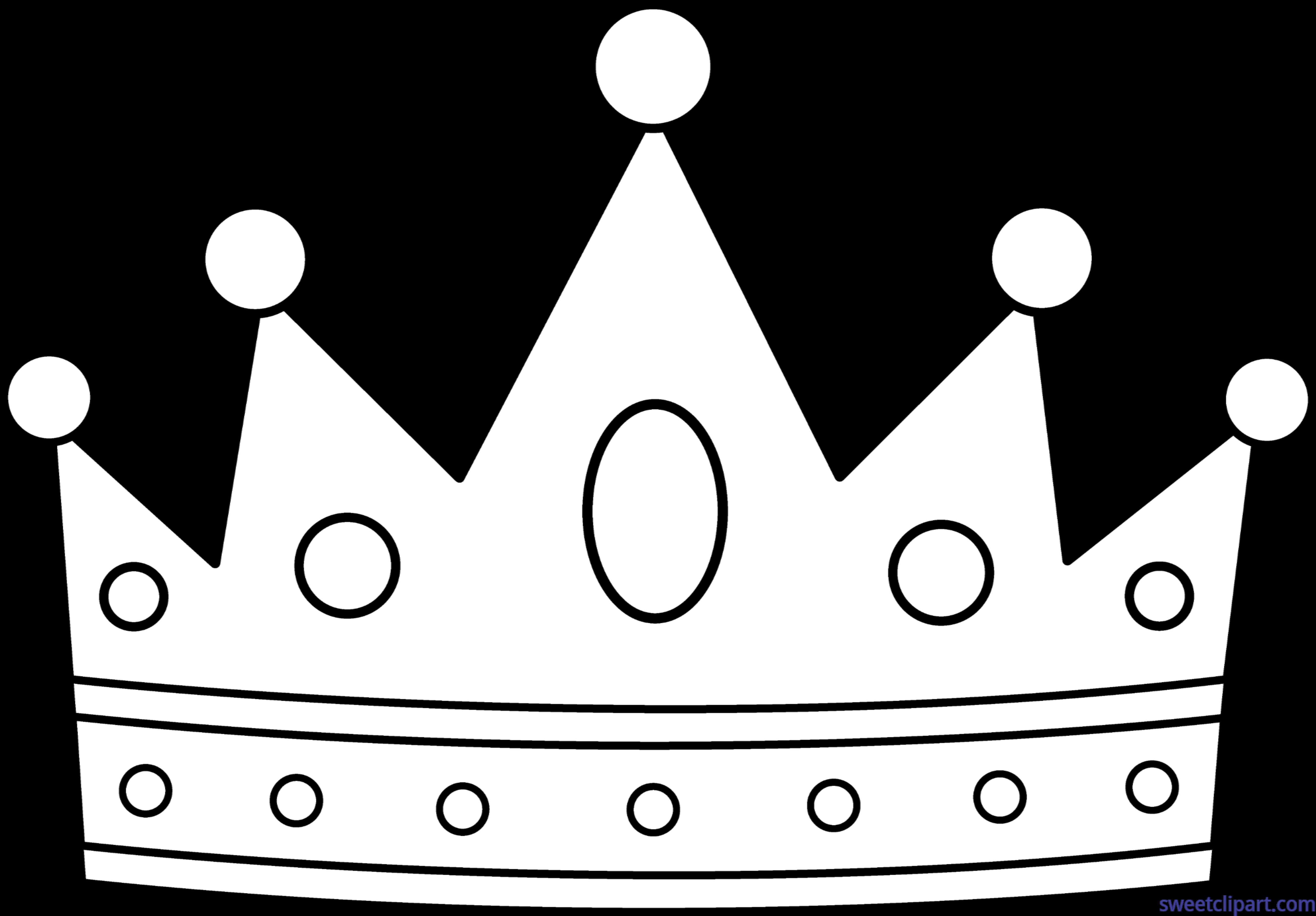 Crowns clipart rainbow. Crown lineart clip art