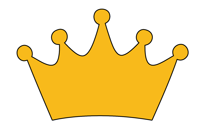 Coroa pr ncipe kit. Crowns clipart tall crown