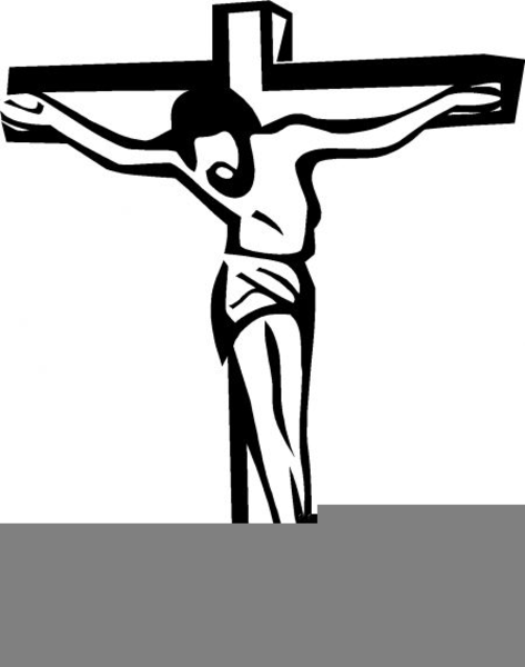 Crucifix clipart. Cross and free images