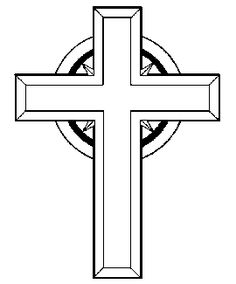 Crucifix clipart. Black and white panda