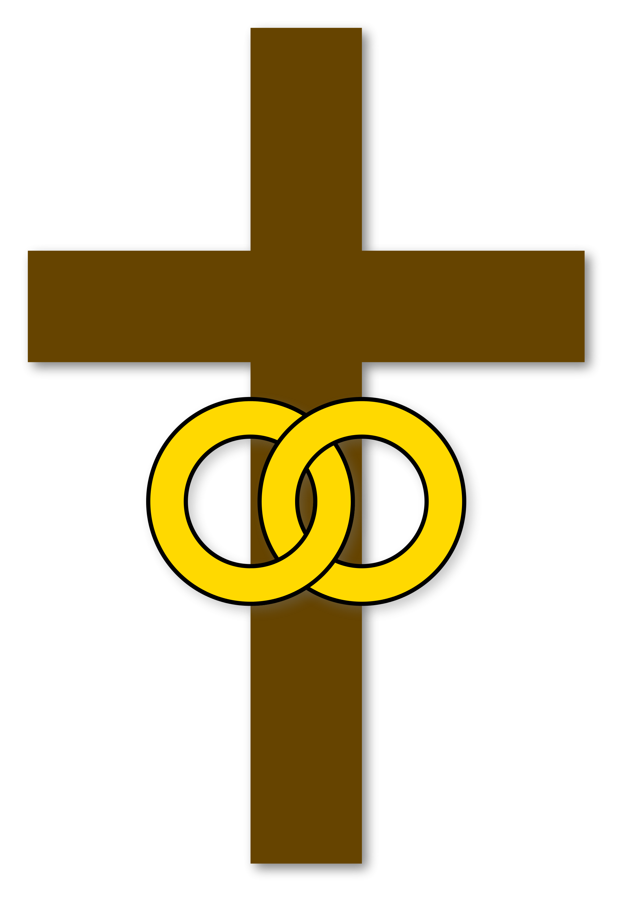 File marriage cross christian. Crucifix clipart christianity