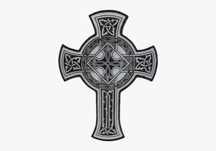 Crucifix clipart cross design. Celtic black free