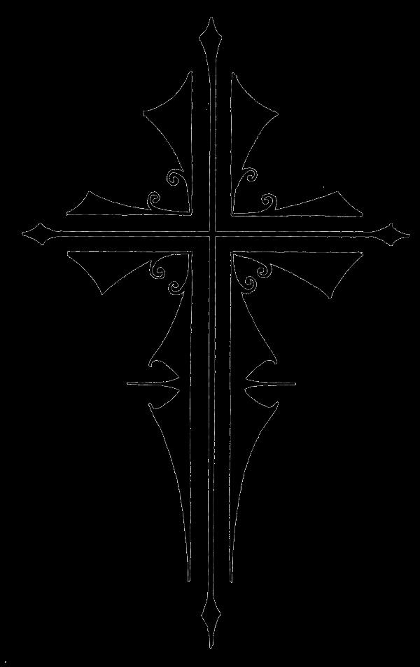Tattoos transparent png images. Crucifix clipart cross tattoo