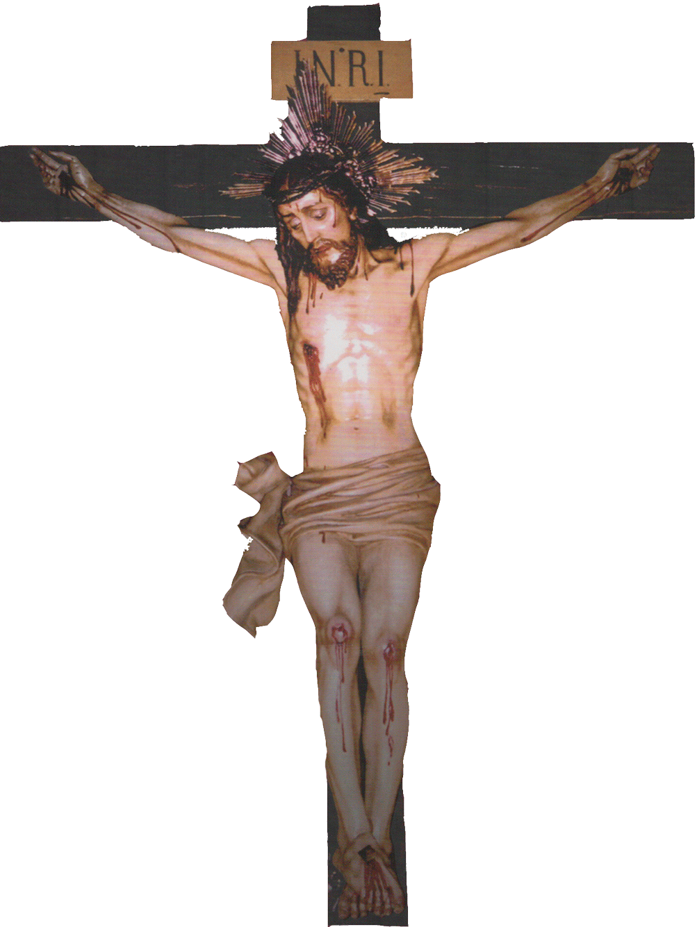 Sangre de n se. Crucifix clipart crucified jesus