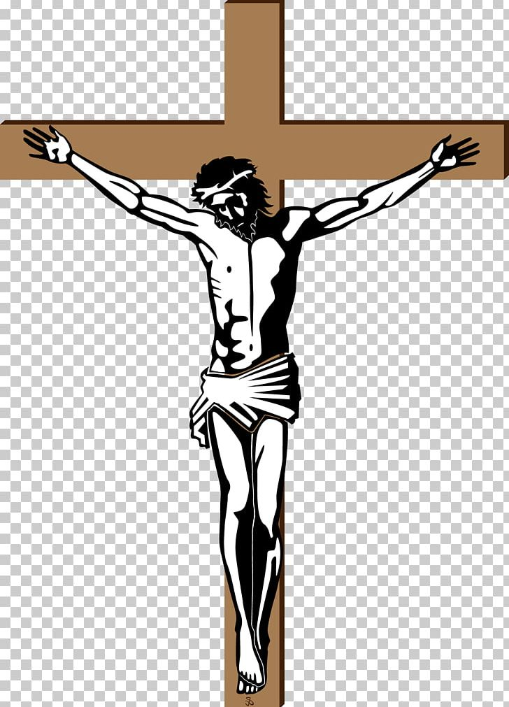Cross crucifixion of depiction. Crucifix clipart crucified jesus