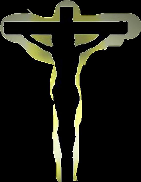 Christ jesus god cross. Crucifix clipart easter