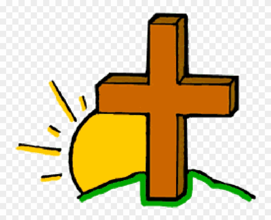 Cross christian png download. Crucifix clipart easter