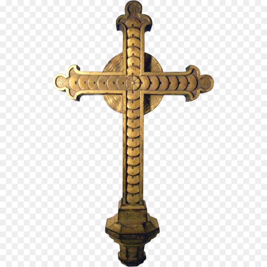 crucifix clipart elegant cross