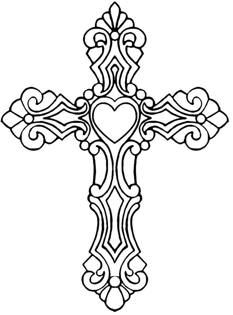 Crucifix clipart filigree cross. Clip art library